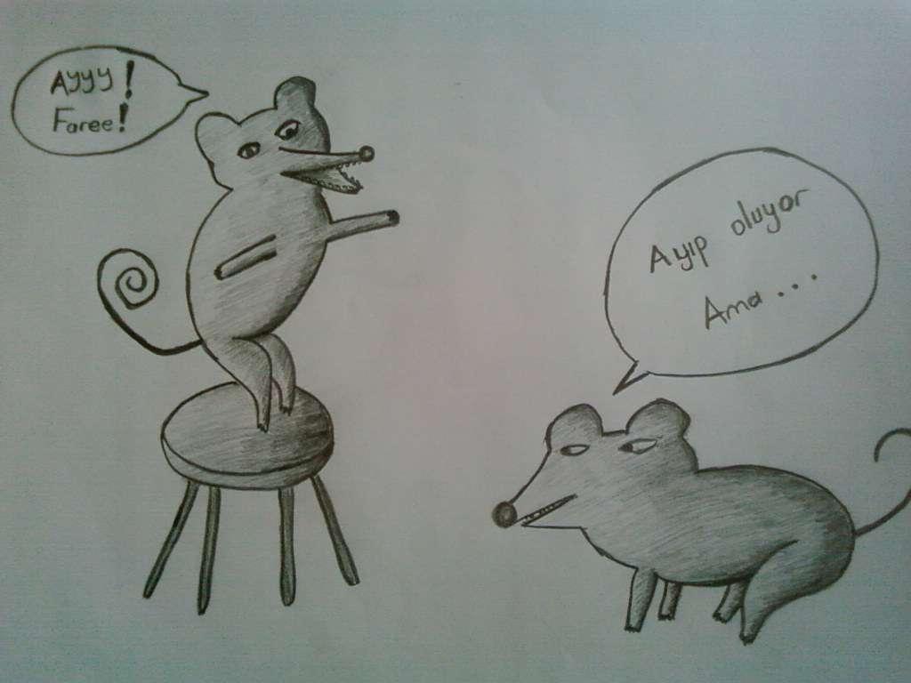 Karikatür öğrenci çalışmaları 2